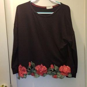 Altard State rose detailed sweater
